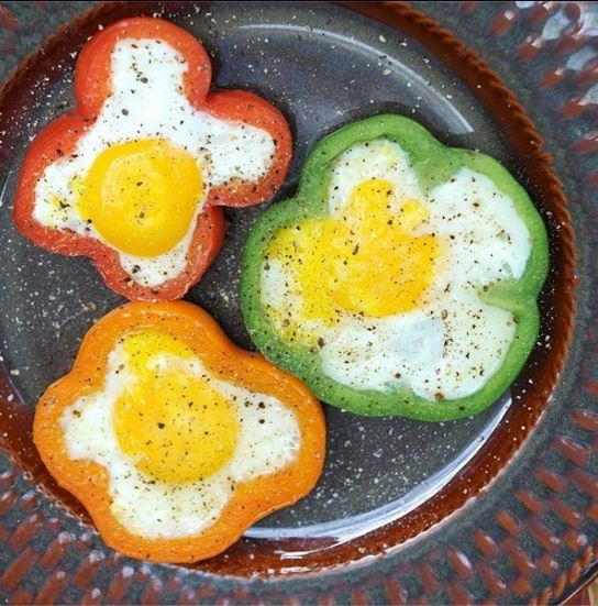 fun way of eating eggs