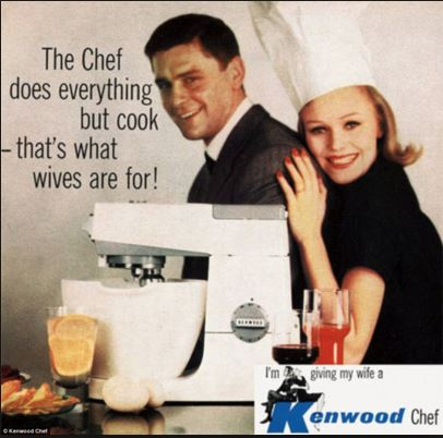 sexist old ad kenwood