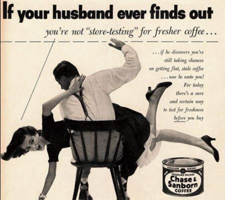sexist old ad