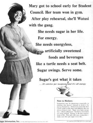 sugar lobby ad