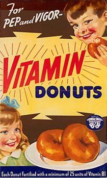 vintage ad food