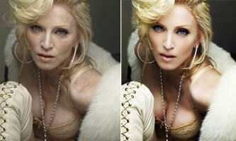 before and after madonna