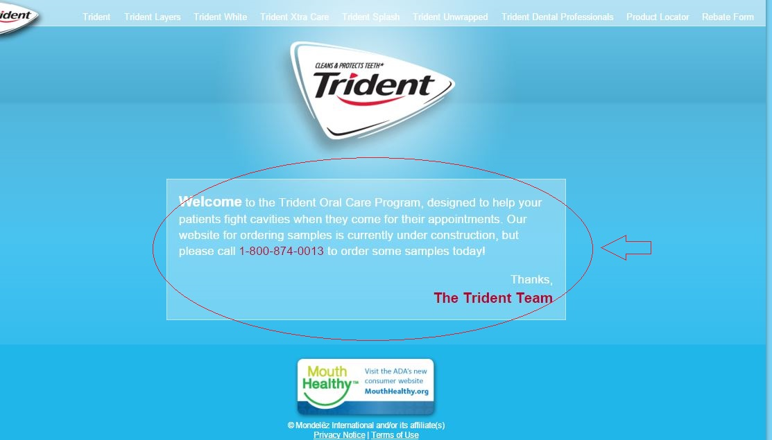 Trident chewing gum website3