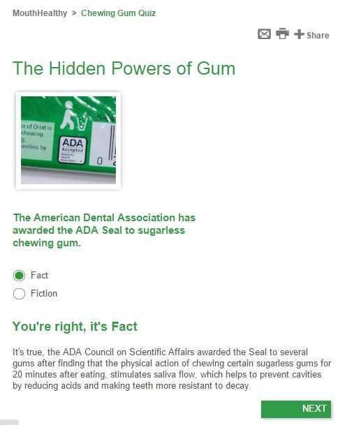is chewing gum healthy