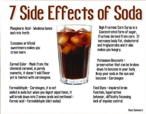 side effects of coca cola