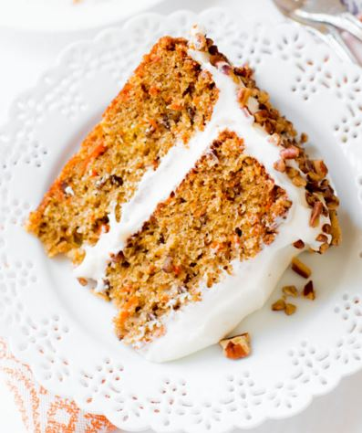 walnuts classic carrot cake recipe